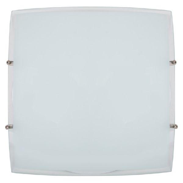 Plafón cuadrado 30x30 cm E27 2 bombillas 2x20W/2x52W